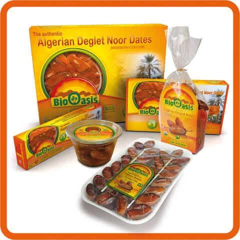Algerian Dates - Deglet Nour