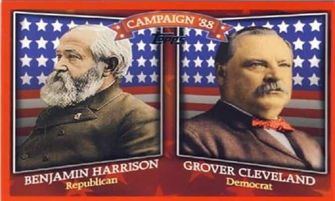Grover Cleveland vs. Benjamin Harrison