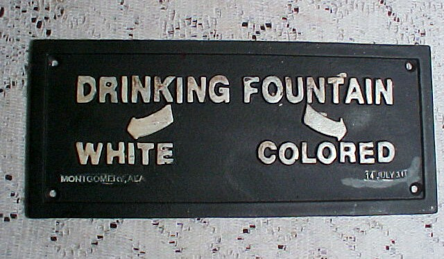 Jim Crow Laws mandated racial segregation in public facilities