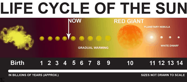 Lifecycles of the Sun