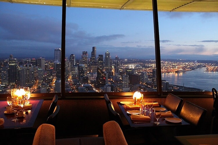 SkyCity RestaurantFacts   Space Needle Facts   20 Facts about the Space Needle. Dinner Seattle Space Needle. Home Design Ideas