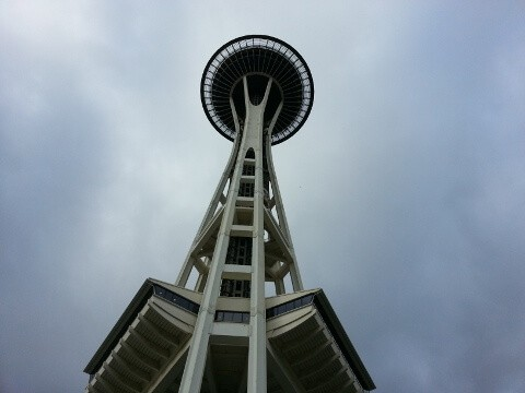 Space Needle Flying Saucer