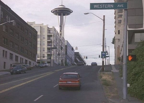 Space Needle in Sleepless in Seattle