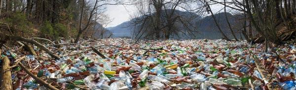 Plastic Bottles Waste