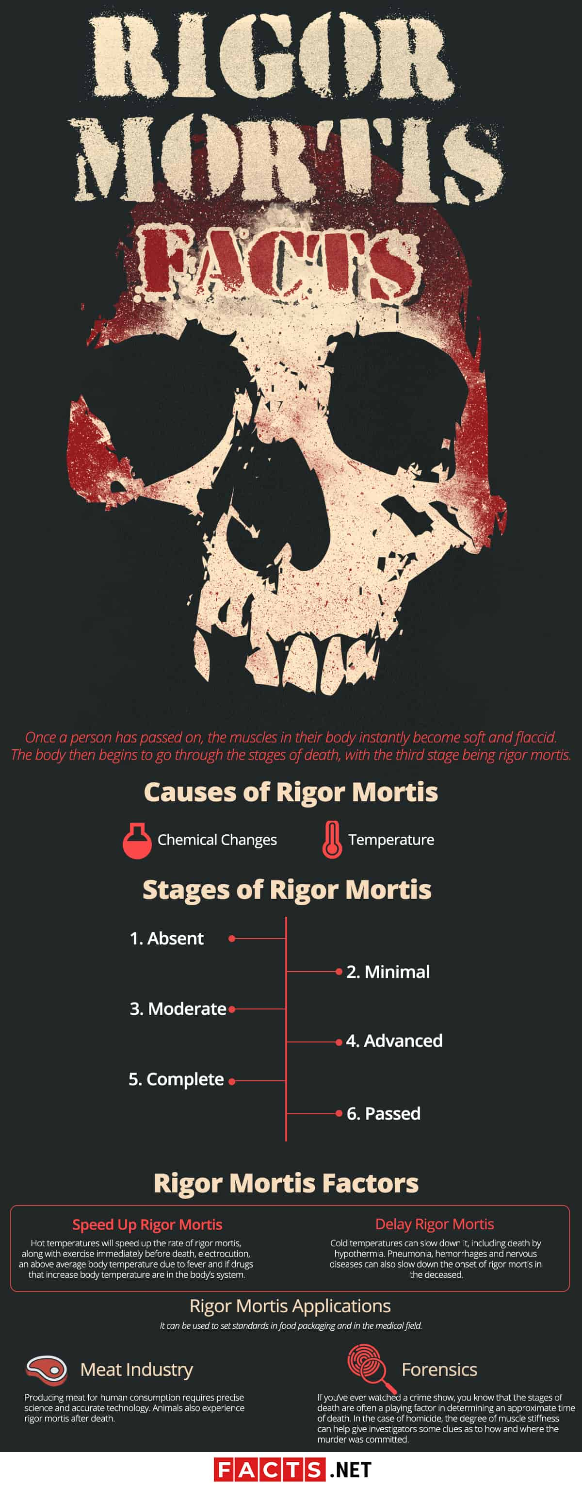 Rigor Mortis Facts Infographics