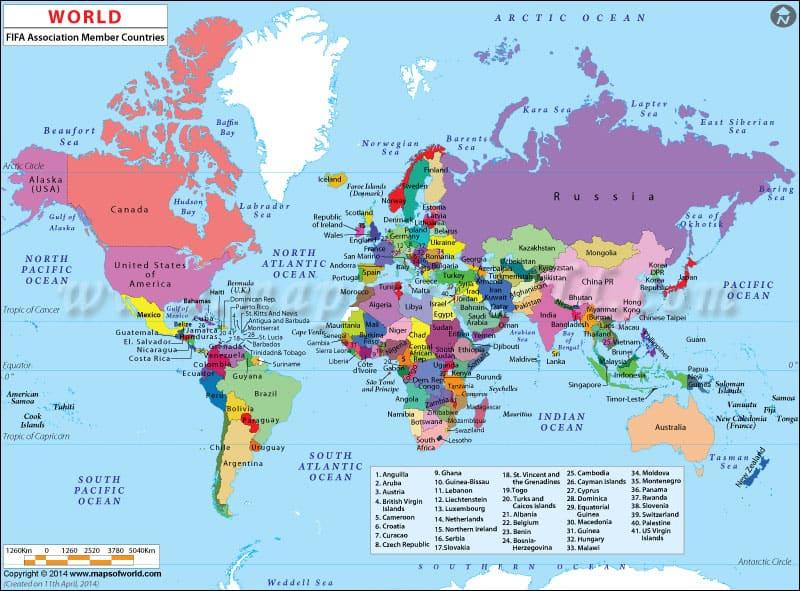 Fifa Member Countries