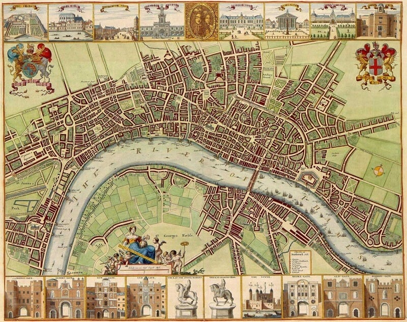 London Historical Map