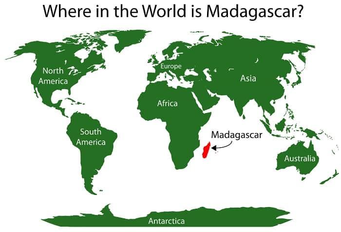 Madagascar Location