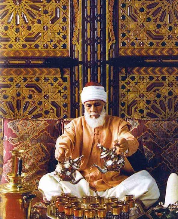 Tea Man in Morocco
