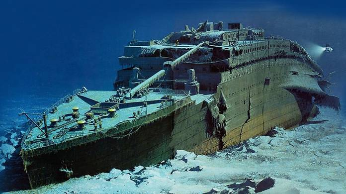 Titanic Shipwreck