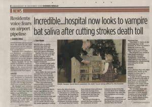Stroke Evening Herald