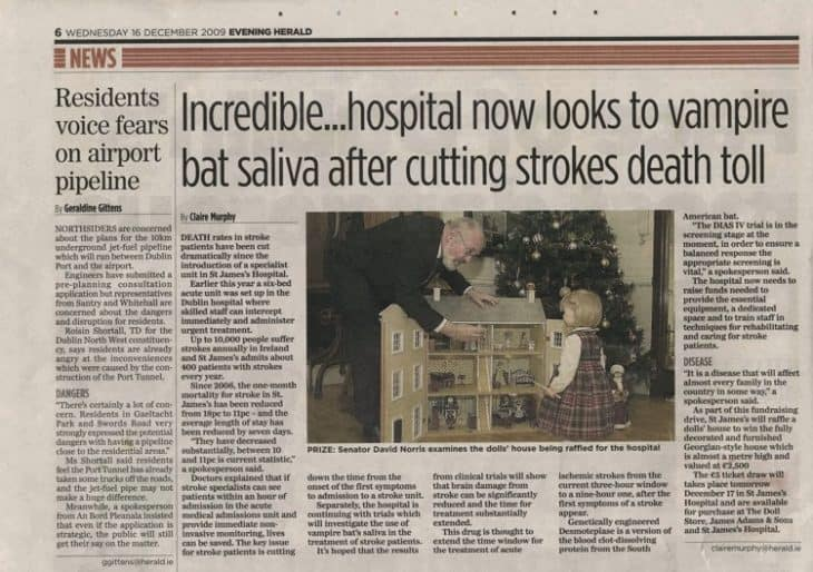 Stroke Evening Herald