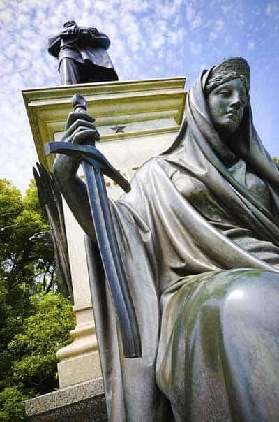 James Garfield Statue at Golden Gate Park