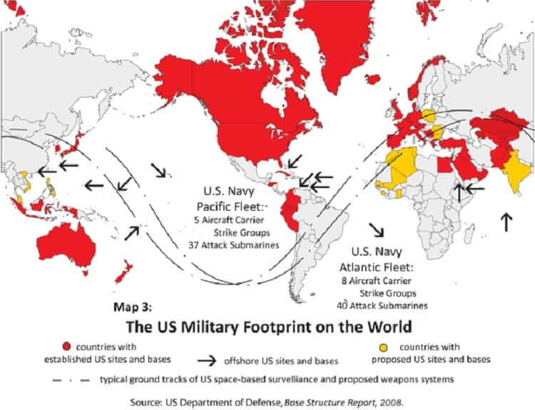 US Military Bases Around the World