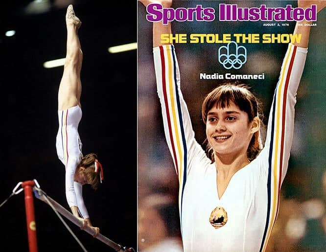 The 1st Perfect 10s - Nadia Comaneci