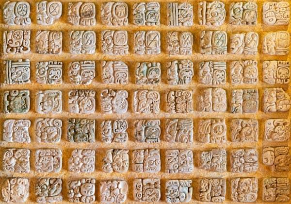 Mayan Alphabets