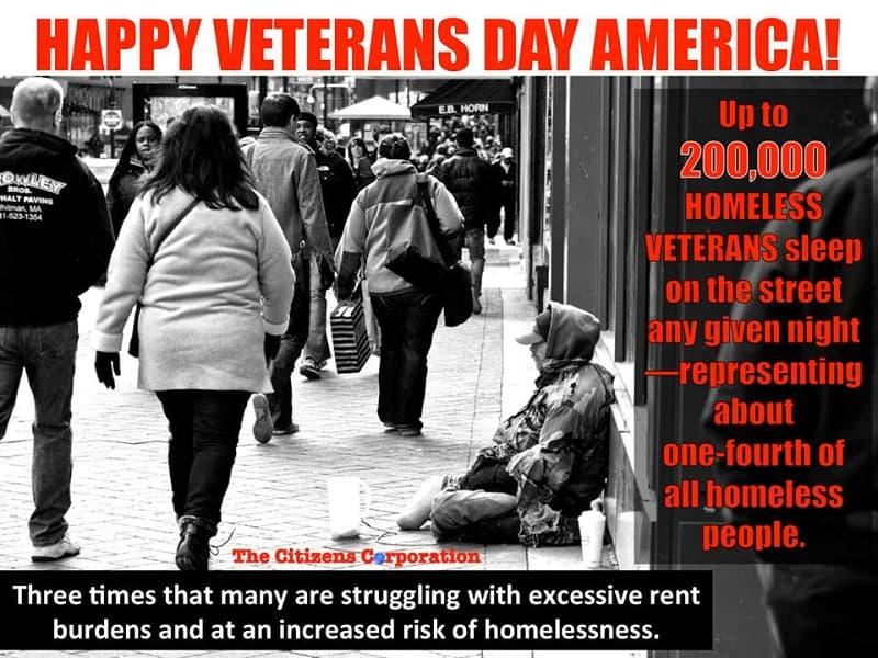 Veterans need your help