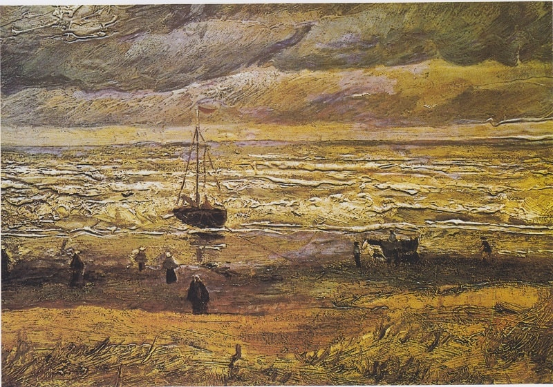 One of the Stolen Paintings by Van Gogh
