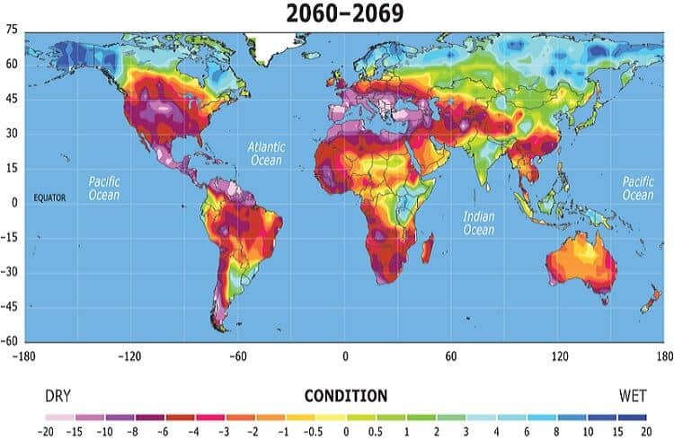 Precipitation Forecast 2060-2069