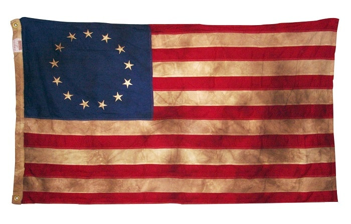 The First US flag