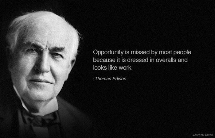 Thomas Edison Quote 2