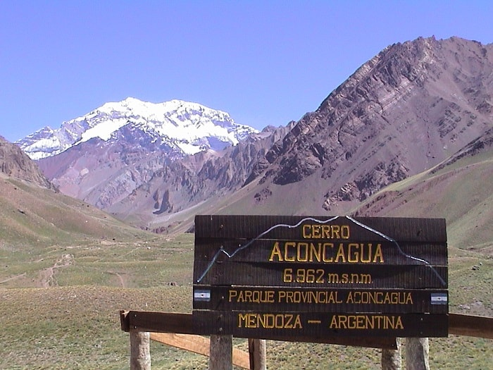 Aconcagua - the Highest Point in South America