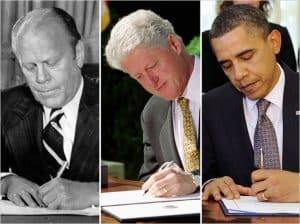 Left-handed-presidents