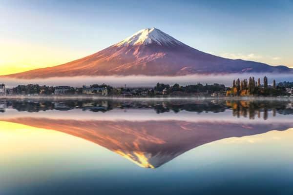 Mount-Fuji, Stratovolcano