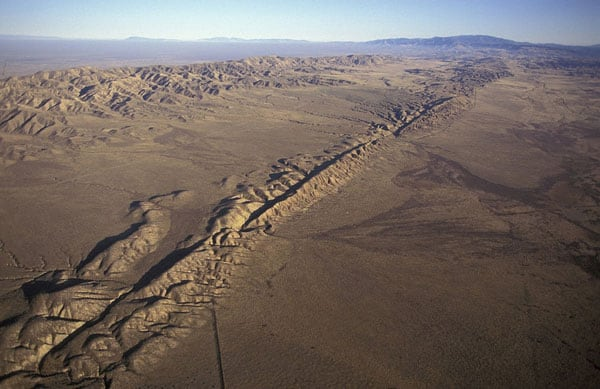 San Andreas Fault, South California