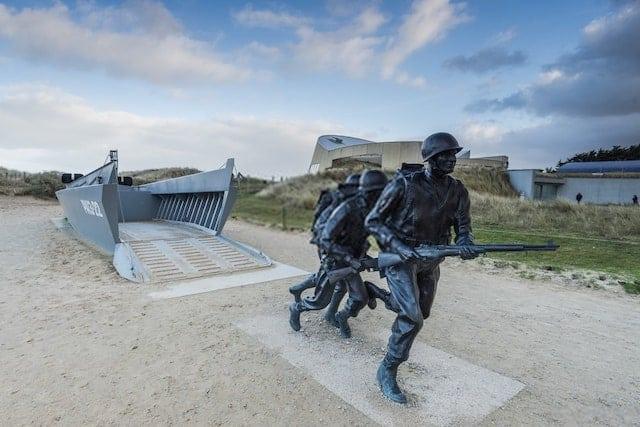 Utah Beach Invasion Landing Memorial, Normandy France