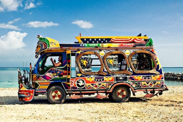 Taptap - Haitian bus