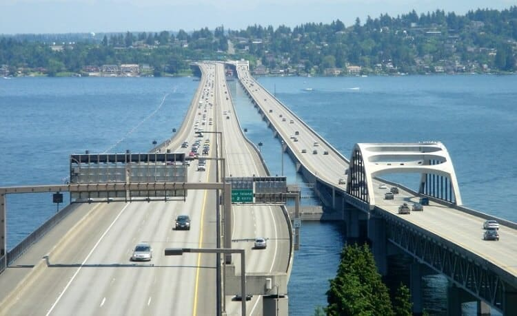 Washington is the Floating Bridge Capitol of the World