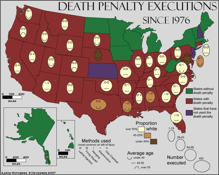 US Death Penalty by state