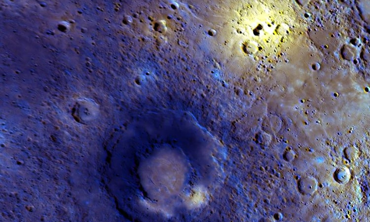 Area on Mercury that was likely volcanic