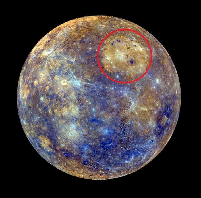 Caloris-Basin-on-Mercury
