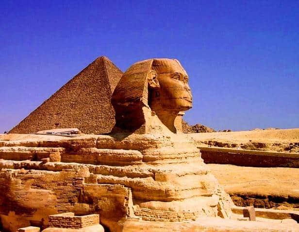 The Giza Pyramids, Egypt