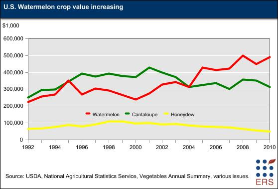 Watermelon Crop Value Increasing