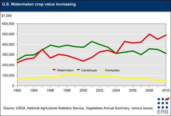 Watermelon Crop Value Increasing