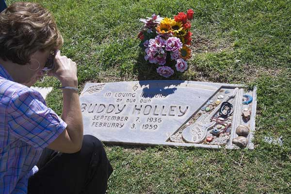 Buddy Holley Gravesite