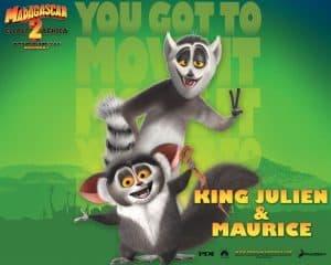 Lemur in the Movie Madagascar