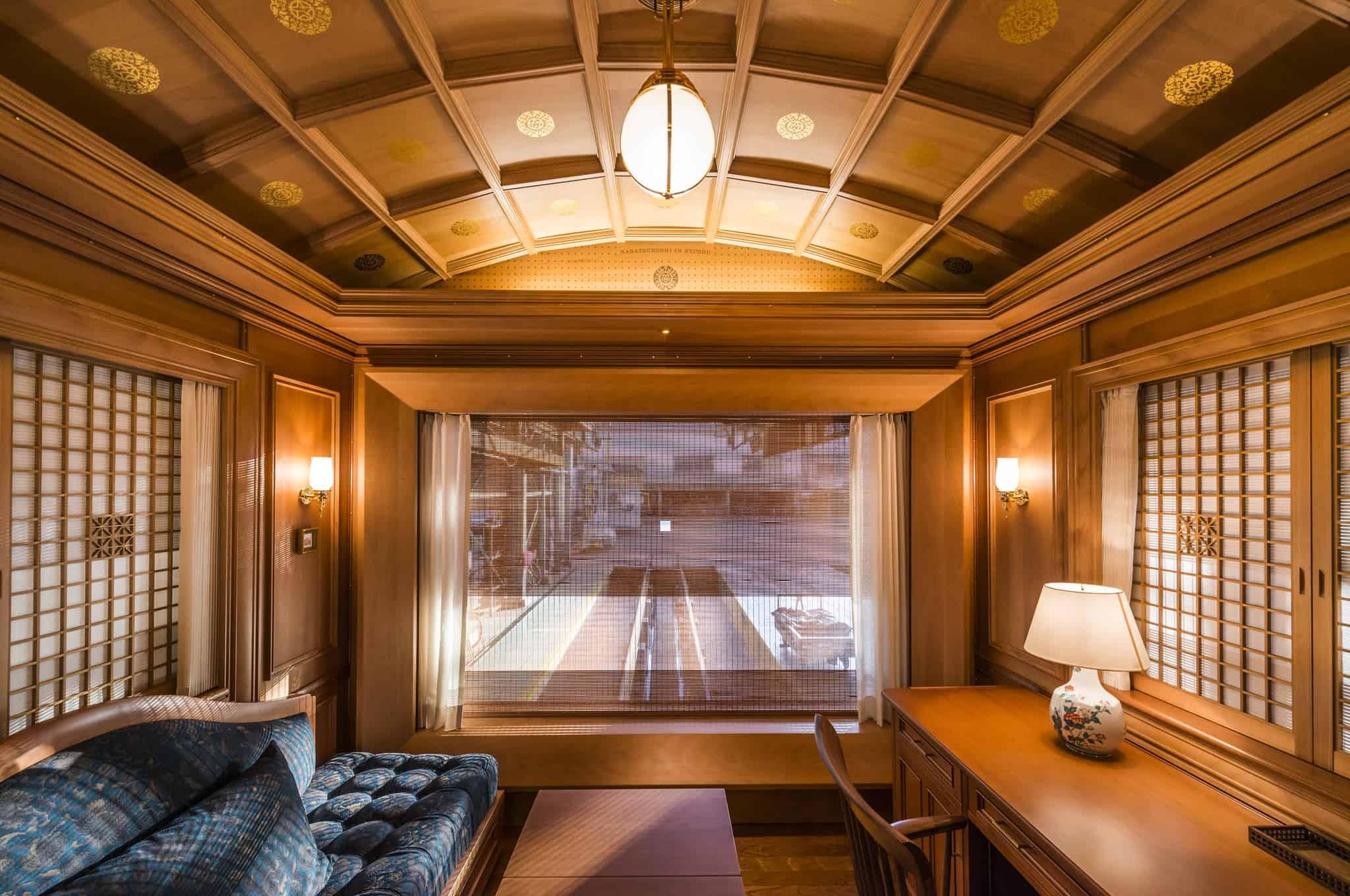 Luxury train cabin, Train facts