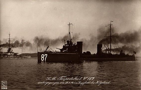 Torpedo boat, World War 1