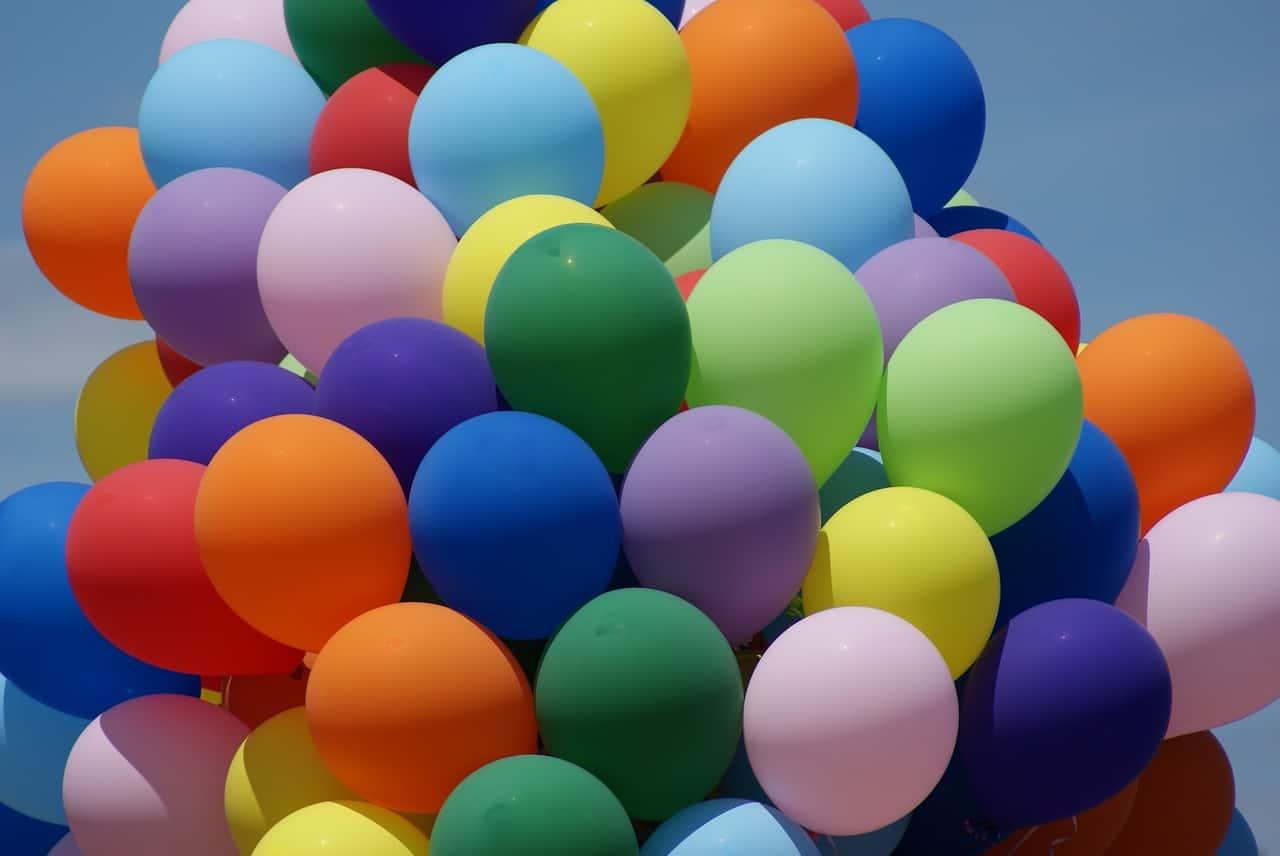 balloon, helium, helium facts