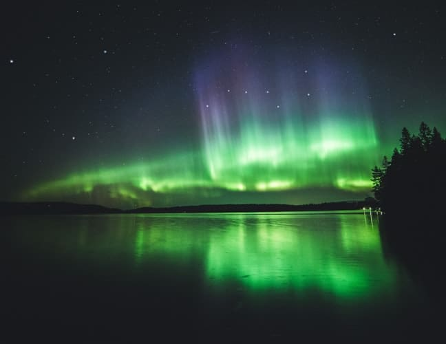 different colors of the northern lights, northern lights facts
