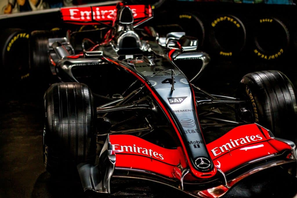 f1 engine facts about gold