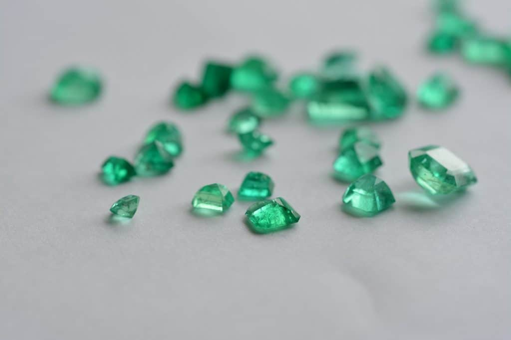 emerald facts about gold