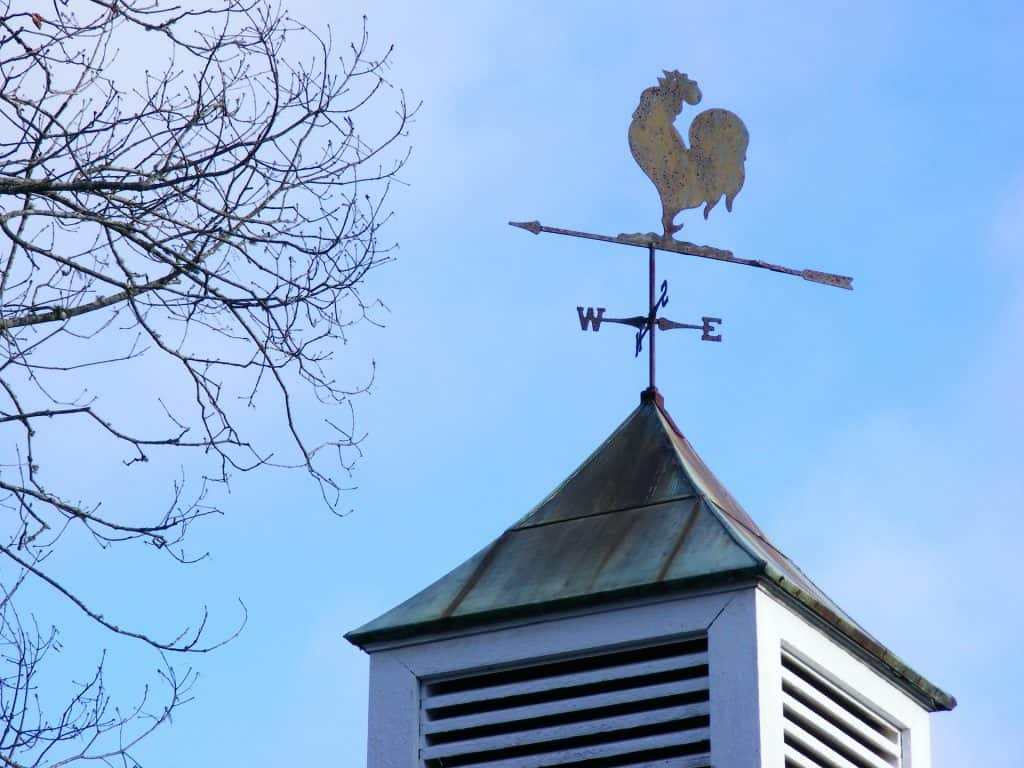 weathervane weather facts