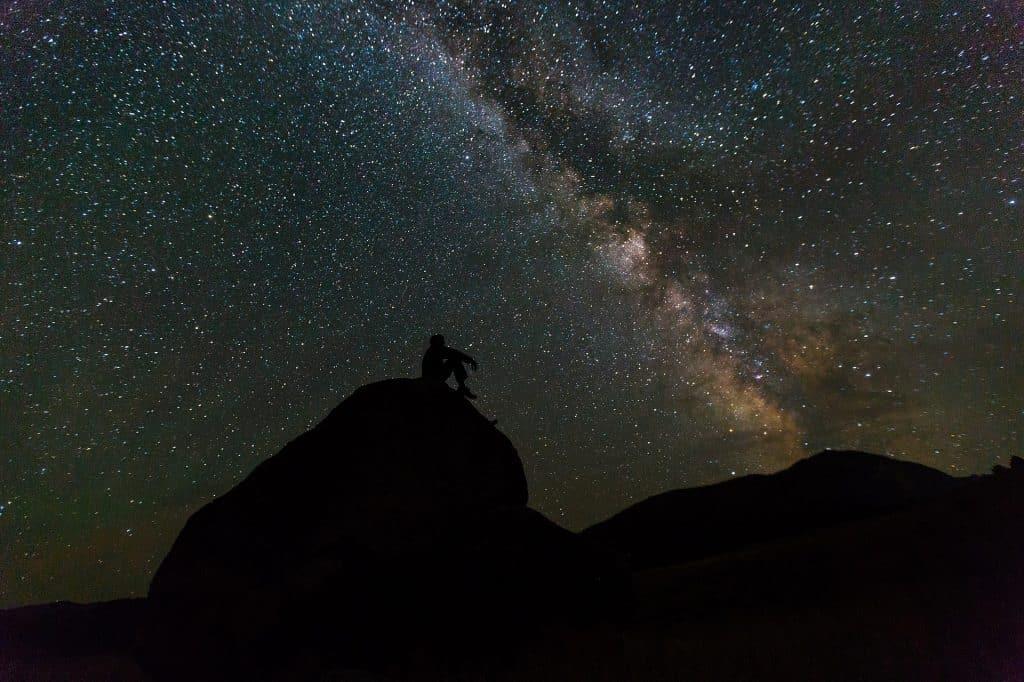 Weird phobias Milky way sky stars universe