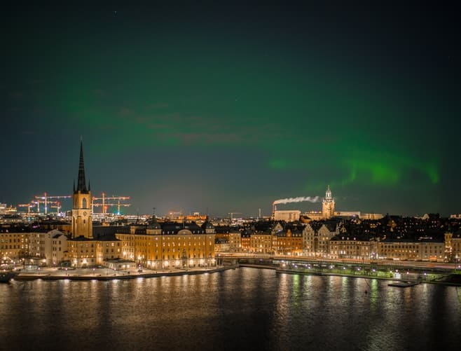 northern lights facts, city