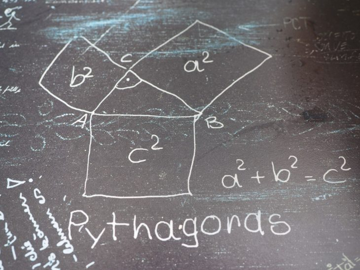 blackboard, pythagoras facts